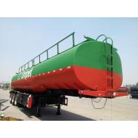 Buy cheap CIMC  tri-axle diesel fuel tank trailers trailer fuel tanker transport for sale product