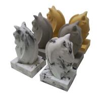 Buy cheap Custom Personalized Concrete Bookends Multiple Effect  With Horse Head product