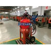 Buy cheap Dust Free Vapour Blasting Equipment Ship Paint Rust Corrosive Removal Support product