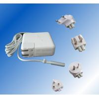Buy cheap White Angled Laptop Power Adapter CE / GS , Apple Macbook Air Power Supply 110V AC product