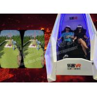 360 Degrees Rotating Virtual Reality Pods Double Seats With Rich VR Games