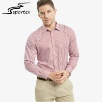 Buy cheap Non Ironing Cotton Satin Male Formal Shirts Breathable For Adults Age Group product