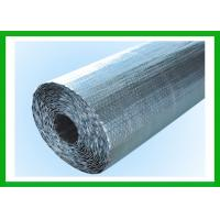 Quality 4mm MPET Double Bubble Foil Insulation For Floor / Roof Heat Barrier for sale