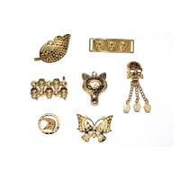 Buy cheap Golden shoe accessories, shoe buckle, shoes chain American style alloy fittings product