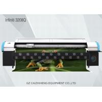 Buy cheap Large Format Digital Solvent Printer , Challenger 3208Q Digital Printing Machine For Fabric product