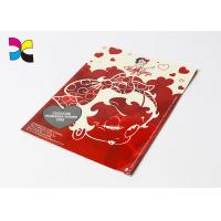 Buy cheap Full Color Red Custom Magazine Printing Subscription For People Perfect Binding product