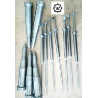 SKD61 Metal Threaded Inserts For Plastic Injection Mold Ejector Sleeve Ejector Pin DME