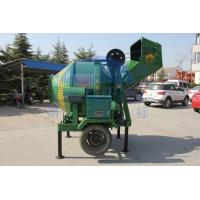 Buy cheap Ladder Type Portable Mixer Machine, 2520 * 2000 * 2500mm Green Mortar JZC250 Cement Mixers product