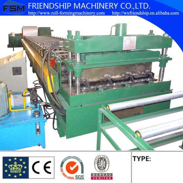 18kw 10m Min 1 5mm Gi Metal Deck Roll Forming Machine Use