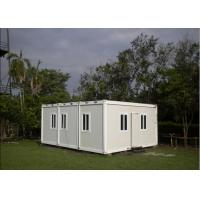 Buy cheap Multifunctional Flat Pack Container House White Color 6000mm * 2438mm * 2891mm product