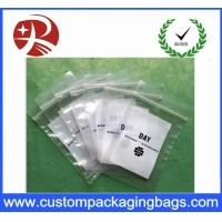 China Recyclable Coloured Printed Ldpe Plastic Bag Packaging Double Ziplock on sale