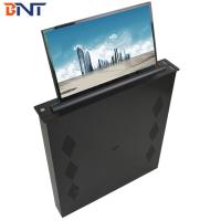 Buy cheap Brushed Aluminum Alloy  Panel Conference Table LED Screen Lifting Up Mechanism 17.3 Inch Screen product