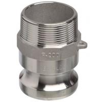 Buy cheap Camlock Part F 3 Male Adaptor Air Hose Couplings with Male NPT Thread Aluminium product