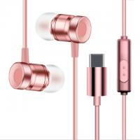 Buy cheap USB Type-C Earbuds Magnetic Wired In ear Headphone Super Bass Music Earphone Earbuds product