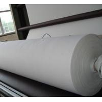 China raw white color needle punch nonwoven on sale