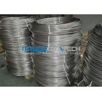 Buy cheap Cold Drawn Stainless Steel Seamless Coiled Tubing 9.53mm x 0.89mm product