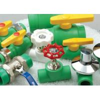 Buy cheap Customized Green Plastic DIN8077/8078 PPR Pipe Fitting Unequal Tee Fittings product