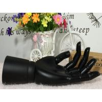 Display Mannequin Wooden Hand For Garment And Fashion(Black)