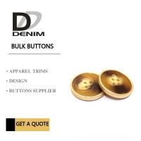Buy cheap Polyester Bulk Clothing Buttons 4 Holes Colorful Assembed Combination Button product