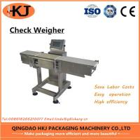 Buy cheap High Accuracy Weight Check Machine , Inline Check Weighing Systems Easy Operate product