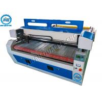 China Auto - Feeding Laser Cutting Machine For Fabric & Leather With Dual / Double Head on sale