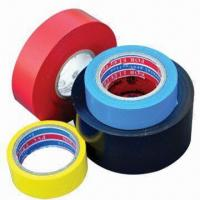 China Electrical tapes, available in various colors on sale