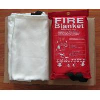 Buy cheap 0.43mm 1.2M*1.8M 1.8m*1.8m 1.5*1.5m Hot selling high quality 100% fiberglass fire blanket with high quality product