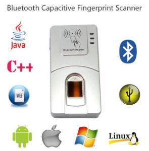 HF7000 USB Handheld C# Bluetooth Android Wireless Biometrics Fingerprint Scanner