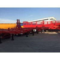 Quality 3 axle 40ft skeleton semi trailers40ft container chassis trailer for sale