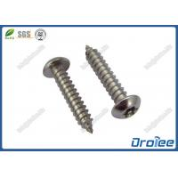 Buy cheap 18-8 / A2 / 316 Stainless Pin Torx Button Head Tamper Proof Sheet Metal Screws product