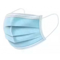 Buy cheap Blue Green Non Woven Fabric Face Mask , 3 Ply Surgical Face Mask product