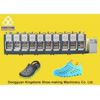 Buy cheap Rain Boots Plastic Chappal Making Machine , Vertical Shoe Sole Mould Making Machine product