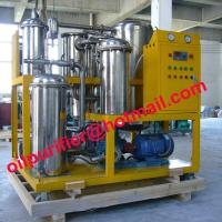 Buy cheap Portable Lube oil purifier, hydraulic oil cleaning machine, hydraulic oil flushing, Lubricant Dewatering Oil Dehydrator product