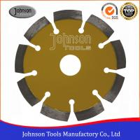 China 115mm Laser Welded Diamond Blades For Cutting Stone / Concrete Block / Brick on sale