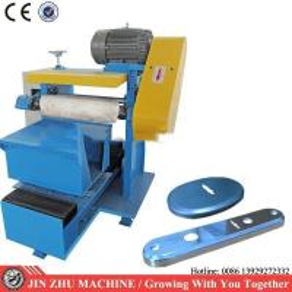 Quality Door Lock Plate Polishing Machine , Surface Grinding Machine PLC Program Control for sale