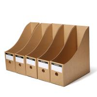 Buy cheap Kraft Paper File Box Paper Packaging Box OEM Logo Printing CMYK Display product