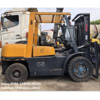 used 4.5ton tcm forklift FD45T8 originally made in japan ,worked for 2000 hrs, for sale