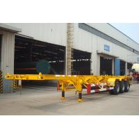 Buy cheap 40 Foot Straight Frame Container Chassis - TITAN VEHICLE product