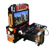 Buy cheap Rambo Electronic Coin Operated Indoor Arcade Video Simulator Gun Shoot Game Machine with 2 players product