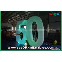 China Customized Inflatable Number With LED Light For Event Advantages on sale