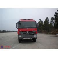 Buy cheap Mercedes Chassis Fire Fighting Vehicles Monitor Flow 100L/S Overturning Type Cab product