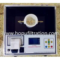 Buy cheap Transformer Oil BDV Tester, Dielectric Oil BDV Test Kit, transformer oil testing kit, oil analyser rates, manufacturer product
