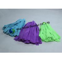 Buy cheap Foodservice Cleaning String Microfiber Mop Head Replacement Spinning Purle Blue product