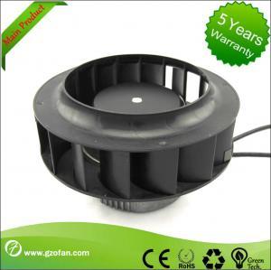 China Backward Curved EC Motor Fan / Centrifugal Exhaust Fan Blower High Volume on sale