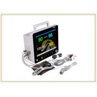 12.1 Inch Ecg Patient Monitor , High Brightness Screen Multipara Patient Monitor
