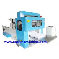 Buy cheap Auto W Fold Paper Towel Making Machine 460mm , Steel To Steel Embossed product