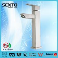 Buy cheap Hot sales new standerd stainless steel water mixer square basin faucet product