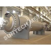 Buy cheap 904L Hight Alloy Stainless Steel Double Tube Sheet Heat Exchanger for Chemical Processing from Wholesalers