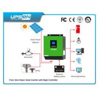 Buy cheap High Frequency Inverter Solar Controller All In One With Pure Sinewave product