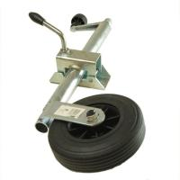 Buy cheap Swing Up Floor Caster Wheel Accessories / Rubber Jacking Castor Wheels from wholesalers